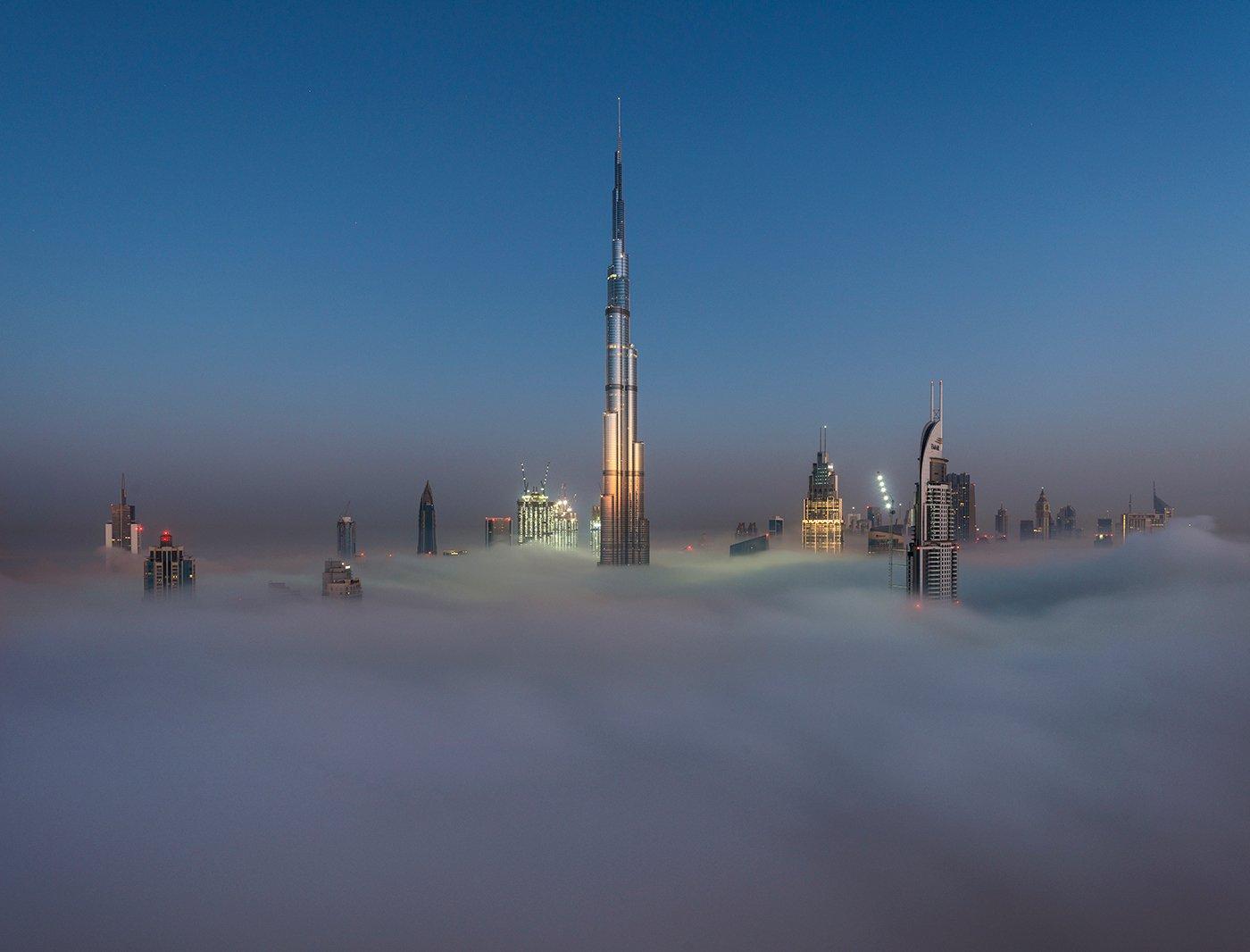dubai fog