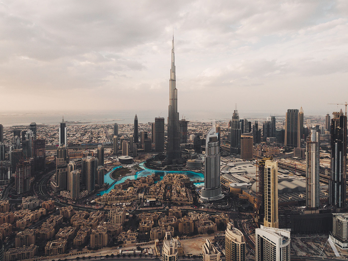aerial photography dubai